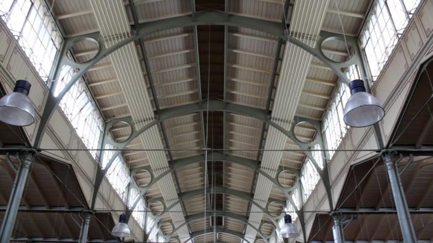 Arminius-Markthalle, Dachkonstruktion