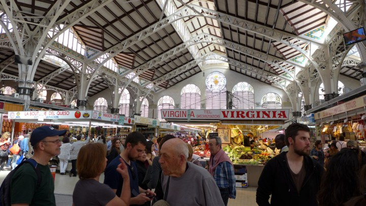 Mercat Central in Valencia