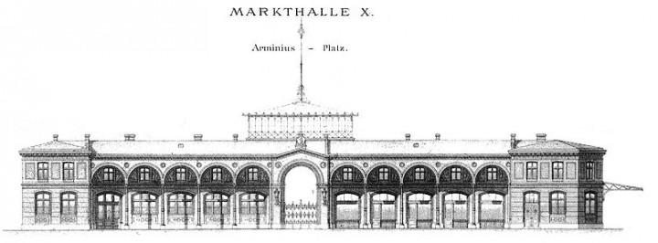Historische Arminius-Markthalle